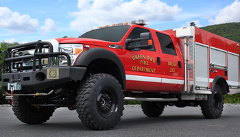 Ford - F-550 Brush/Rescue Truck