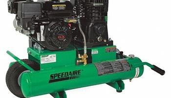 Speedaire - 1VN93 Wheelbarrow Portable Gas Air Compressor