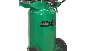 Speedaire - 4TW29 Portable Electric Barrel Air Compressor