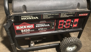 Honda - Black Max 8450