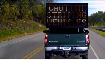 ADDCO - Truck Mounted Variable Message Sign