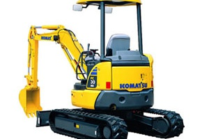 Komatsu - PC30MR-3
