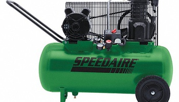 Speedaire - 52YM09 Portable Electric Air Compressor, 135 psi