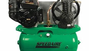 Speedaire - 5F564 Piston, 14.0 hp Stationary Air Compressor, 30 gal