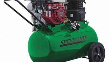 Speedaire - 4B241 20 gal. 5.5 HP Barrel Portable Gas Air Compressor