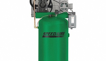 Speedaire - 35WC47 1 Phase - Electrical Vertical Tank Mounted 7.5 HP - Stationary Air Compressor, 80 g