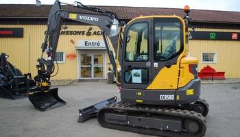 Volvo - ECR58D Excavator