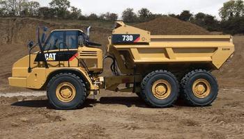 CAT - 730 Dump Truck
