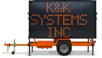 K&K Systems - Sign Trailer