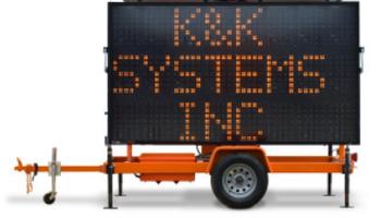 K&K Systems - Sign Trailer