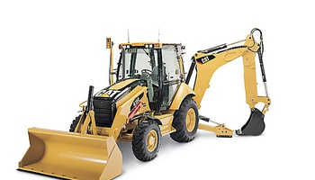 CAT - 416E Backhoe Loader