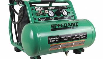 Speedaire - 415L90 Oil Free Portable Air Compressor; 225 psi