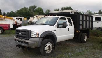 Ford - F550 Dump Truck
