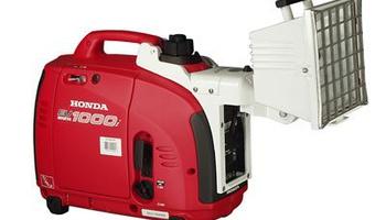 Honda - EU1000i/500 Watt Flood Light attached