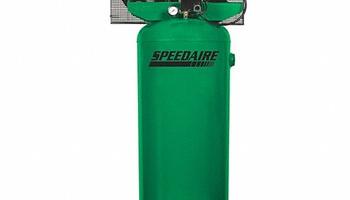 Speedaire - 4ME97 Stationary Air Compressor, 60 gal, 1-Phase