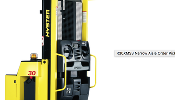 Hyster - R30XMF3 Furniture Mover