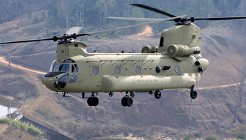 Boeing - CH47 Chinook Helicopter