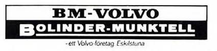 Bolinder Munktell Logo