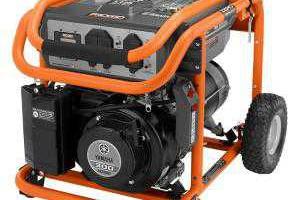 Ridgid - RIDGID 5700 Watt Yamaha Powered Portable Generator