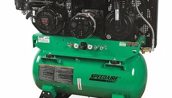 Speedaire - 6EWK6 Stationary Air Compressor/Generator 30 gal