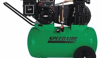 Speedaire - 4B220 20 gal. 5.5 HP Barrel Portable Gas Air Compressor