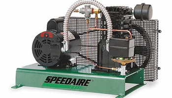 Speedaire - 4B242 1 Phase - Electrical Tankless Base Mounted 2.0 HP - Stationary Air Compressor