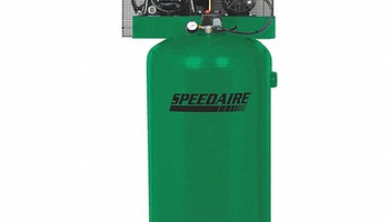 Speedaire - 35WC83 3 Phase - Electrical Vertical Tank Mounted 5.0 HP - Stationary Air Compressor, 80 g