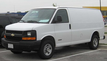 Chevrolet (Chevy) - Express 1500 Cargo Van