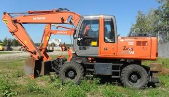 Hitachi - ZX160W