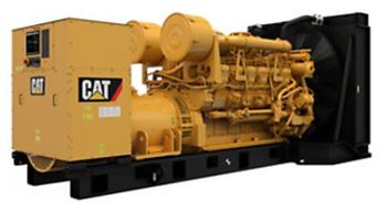 CAT - 3512B 50 HZ Diesel Generator
