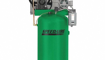 Speedaire - 35WC40 Stationary Air Compressor, 80 gal, 1-Phase