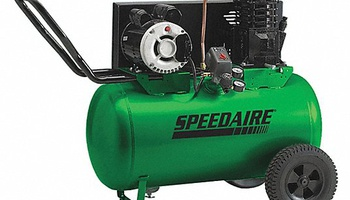 Speedaire - 1NNF7 Portable Electric Barrel Air Compressor