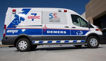 Demers - Ford Transit Ambulance