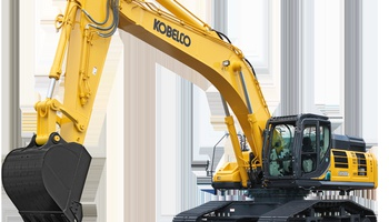 Kobelco - SK-500LC-10 high and wide
