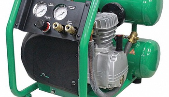 Speedaire - 11X355 Portable Electric Oil-Lubricated Air Compressor