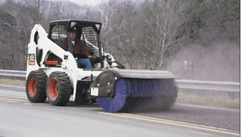 "Bobcat - 84"" ANGLE BROOM"