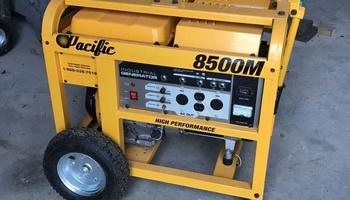 Pacific Equipment - 8500M