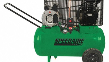 Speedaire - 1NNF6 Portable Electric Barrel Air Compressor