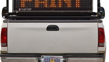 K&K Systems - Truck Mounted Variable message board
